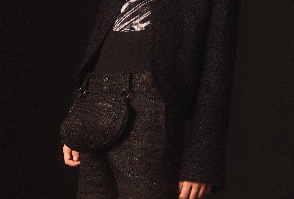 Night Tweed Cropped Jacket