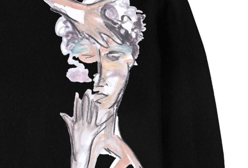 """""""Vogue Hands"""" Sweatshirt"""