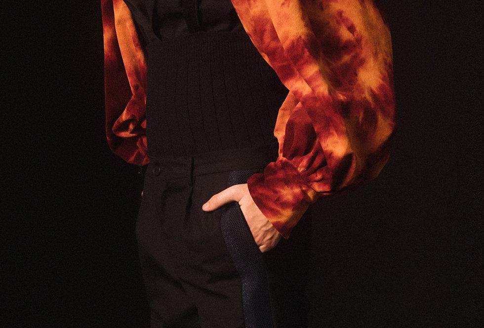 Flaming Bouffant Sleeve