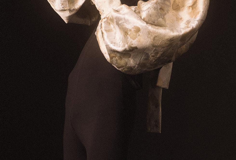 Brocade Bouffant Sleeve