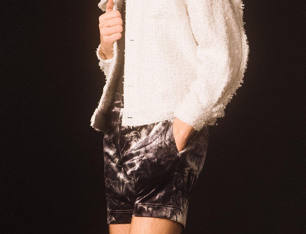 Cloudy White Blouson Jacket