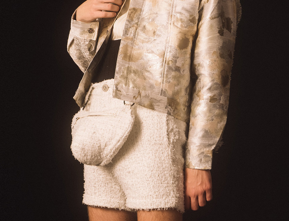 Brocade Blouson Jacket