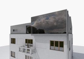 Vinoř,  reconstruction of the attic