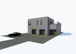 Auto repair shop building object