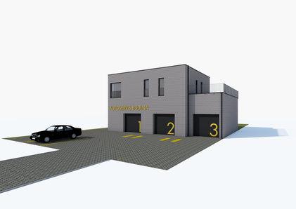 Auto repair shop building object