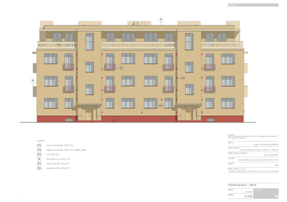 Reconstruction of residential building facades