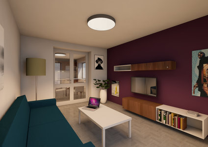 Reconstruction of the apartment in Prague