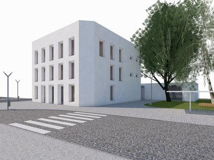 Town hall Lázně Bělohrad