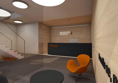 Interior hall in Milovice