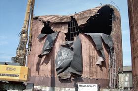 Demolition of the object, Pražská teplárenská