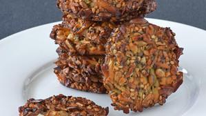 Galletas energéticas de semillas y frutos secos (Gluten and Lactose free)