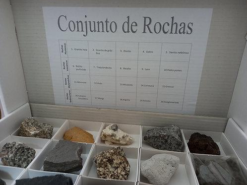 Conjunto de Rochas