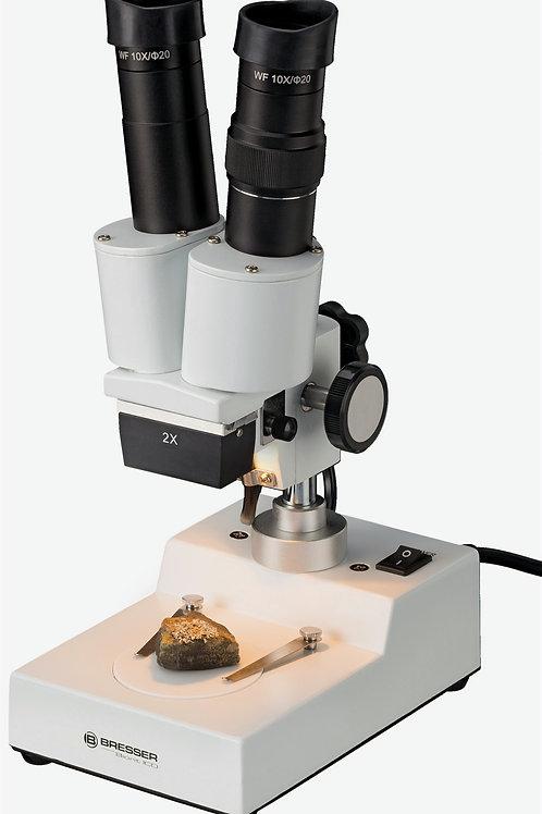 lupa binocular bresser BIORIT ICD 20X