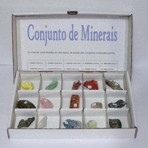 Conjunto de minerais