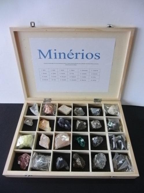 conjunto de minérios