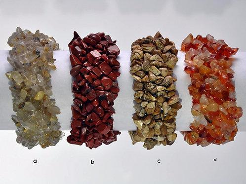 Pulseiras em pedra