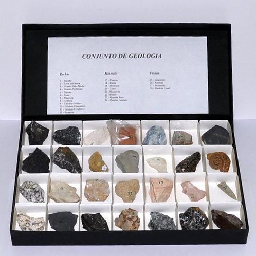 conjunto de geologia