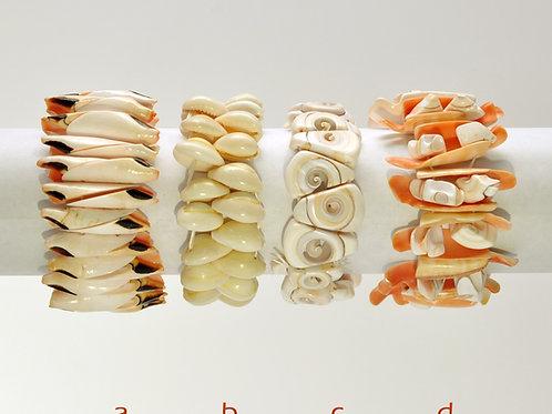 pulseiras de concha