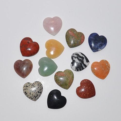 corações em pedra