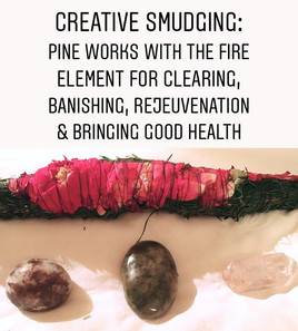 Who uses pine for smudging_! What's your