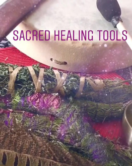 Beautiful healing session this afternoon
