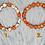 Thumbnail: Multicolored Beaded bracelet, fashion bracelet, crystal beaded bracelet, stone b