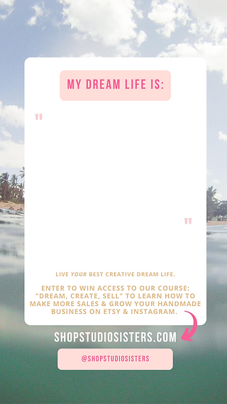 giveaway Dream, Create, Sell 2.png