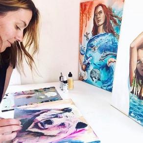 Katie's Artist Story, with Katie of Studio Sisters