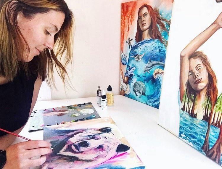 go on an artist retreat