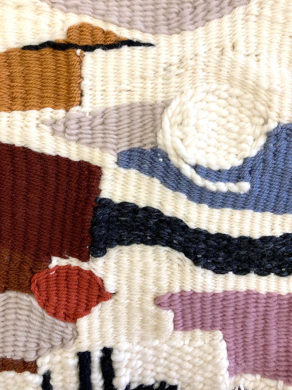 postmodern art abstract weaving