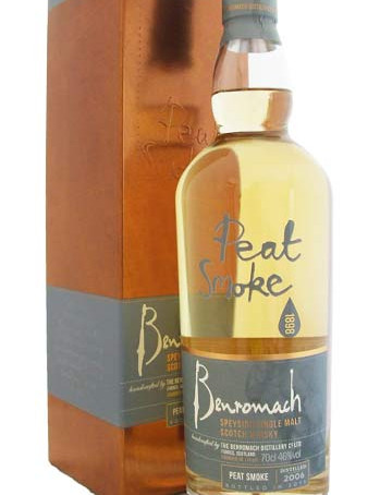 Whiskyverslag nummer tien: Benromach Peat Smoke