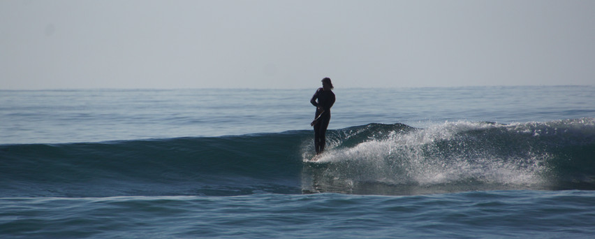 ofcause when you get better or are already a cruiser we have the slower more mellow point breaks....