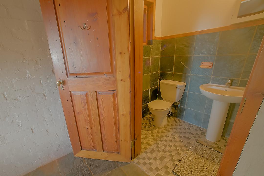Main Beach House Bathroom downstrairs