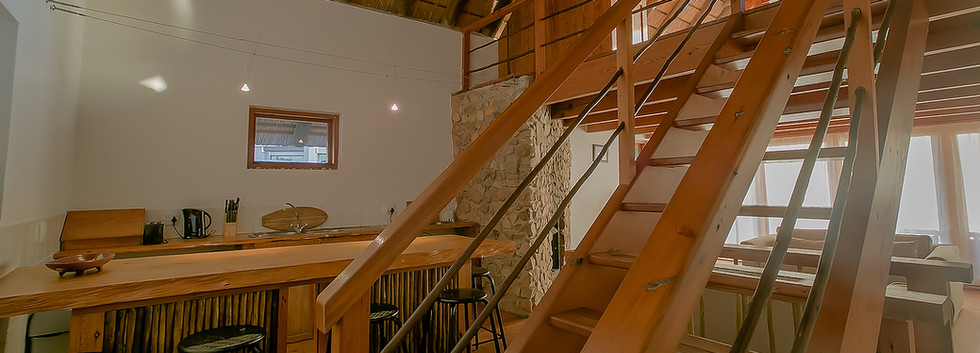 Main Beach House Kitchen/stairs