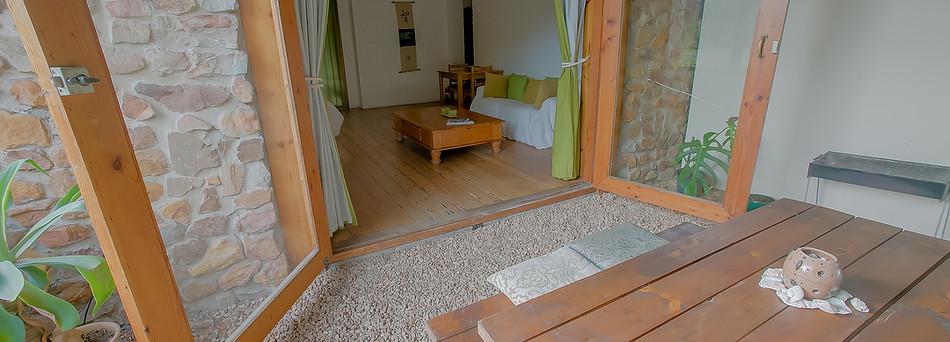 Garden Studio, Patio/Entrance