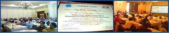 Curso en Quito Ecuador con una alta participación de profesionales. Certificación emitida por la empresa auspiciadora ICO.