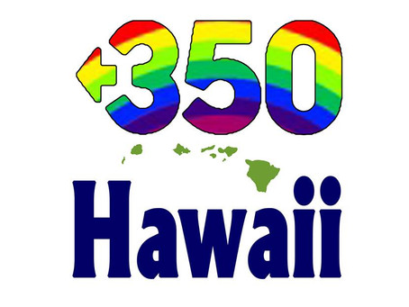 Early Endorsement from 350Hawaii.org