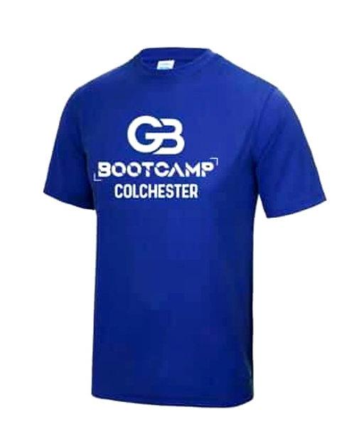 Colchester Bootcamp Blue T-Shirt