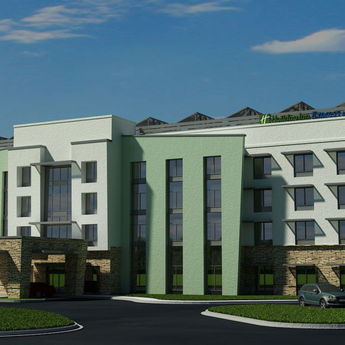 Concept Hotel- Holiday Inn Express (Rendering)- Monroe, NC
