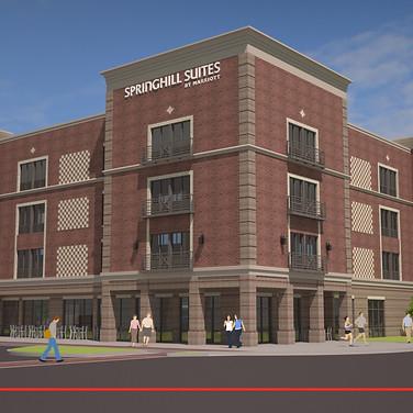 SpringHill Suites (Rendering)- Cheraw, SC