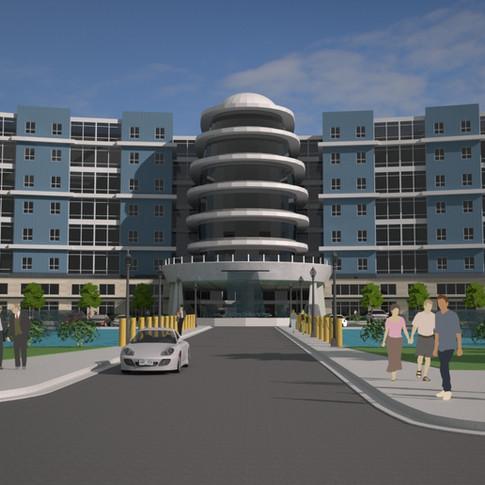 Concept Hotel- Convention Hotel (Rendering)- Charleston, SC