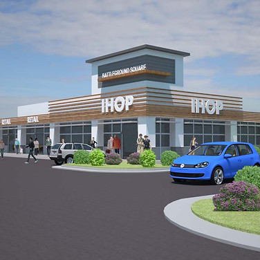 Concept Retail (Rendering)- Greensboro, NC