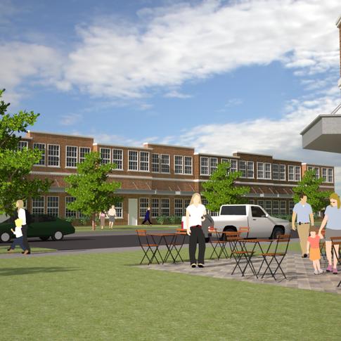 Concept Flex Space (Rendering)- Rock Hill, SC