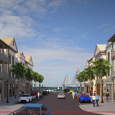 Ferry Wharf (Rendering)