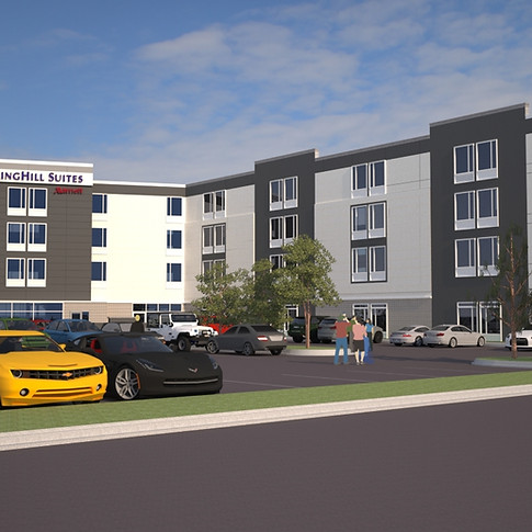 SpringHill Suites (Rendering)- Whitehall, NC