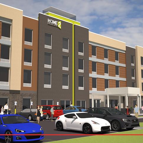 Home 2 Suites (Rendering)- Simpsonville, SC