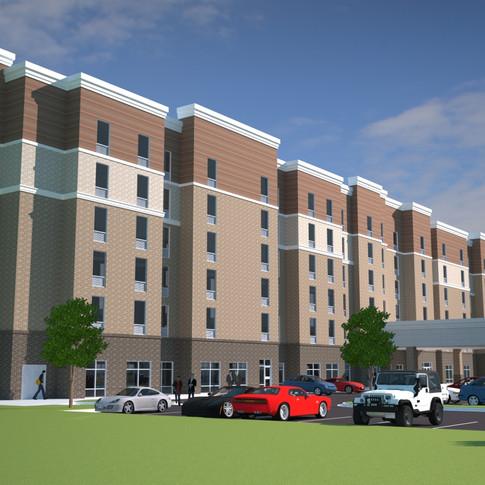 Dual Brand Hotel (Rendering)- Wilmington, NC