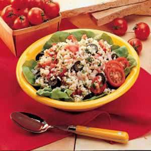 Summer Rice Salad Recipe - 1982