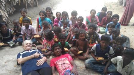 DALITS CAST CHILDREN, VANDAVASI, INDIA