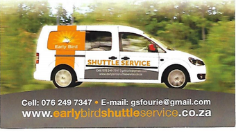 EARLY BIRD Shuttle Service